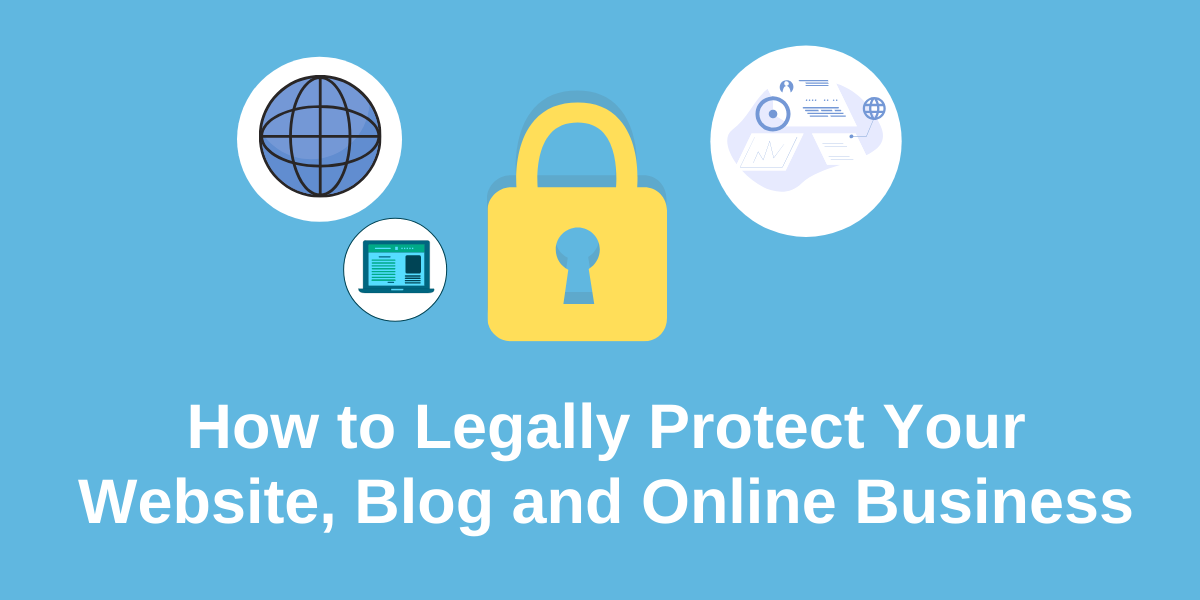 legal pages for blogging